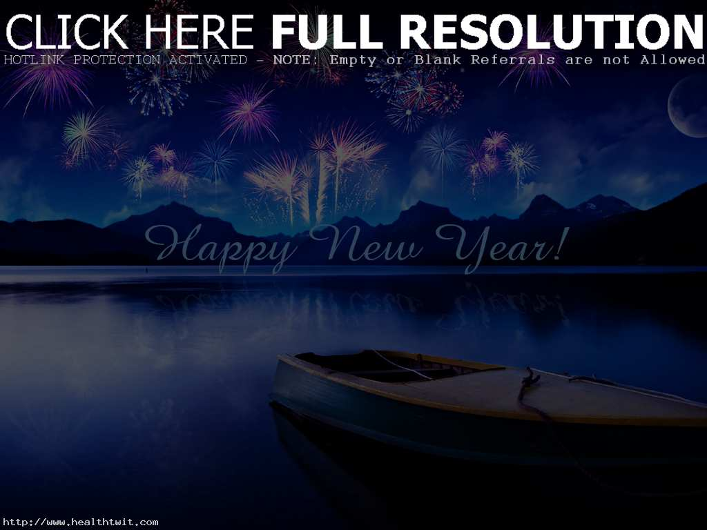 Full HD New Year Wallpaper