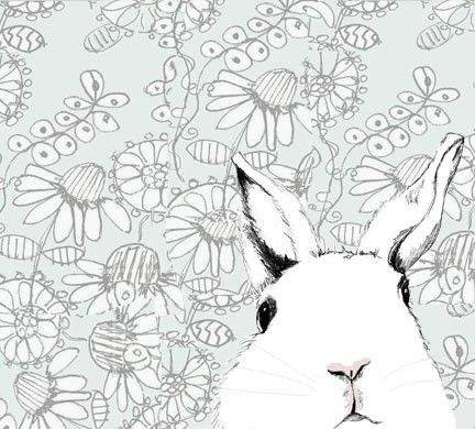 Full House Bunny Wallpaper