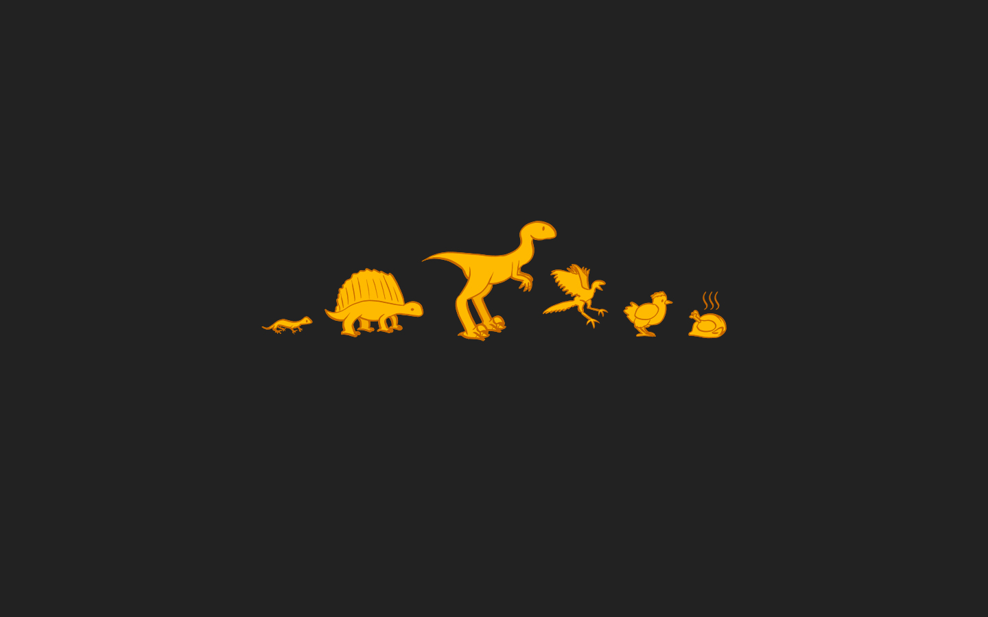 Funny Dinosaur Wallpaper