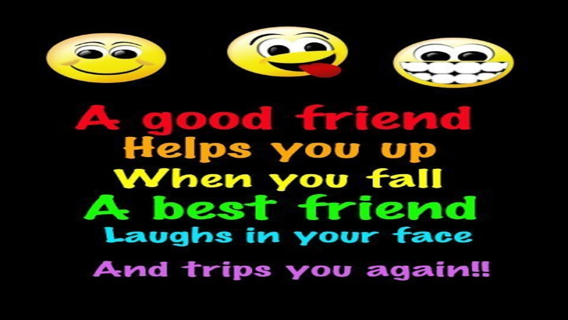 Funny Friendship Wallpaper Download Free