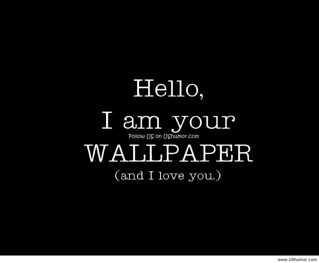 Funny Home Wallpaper