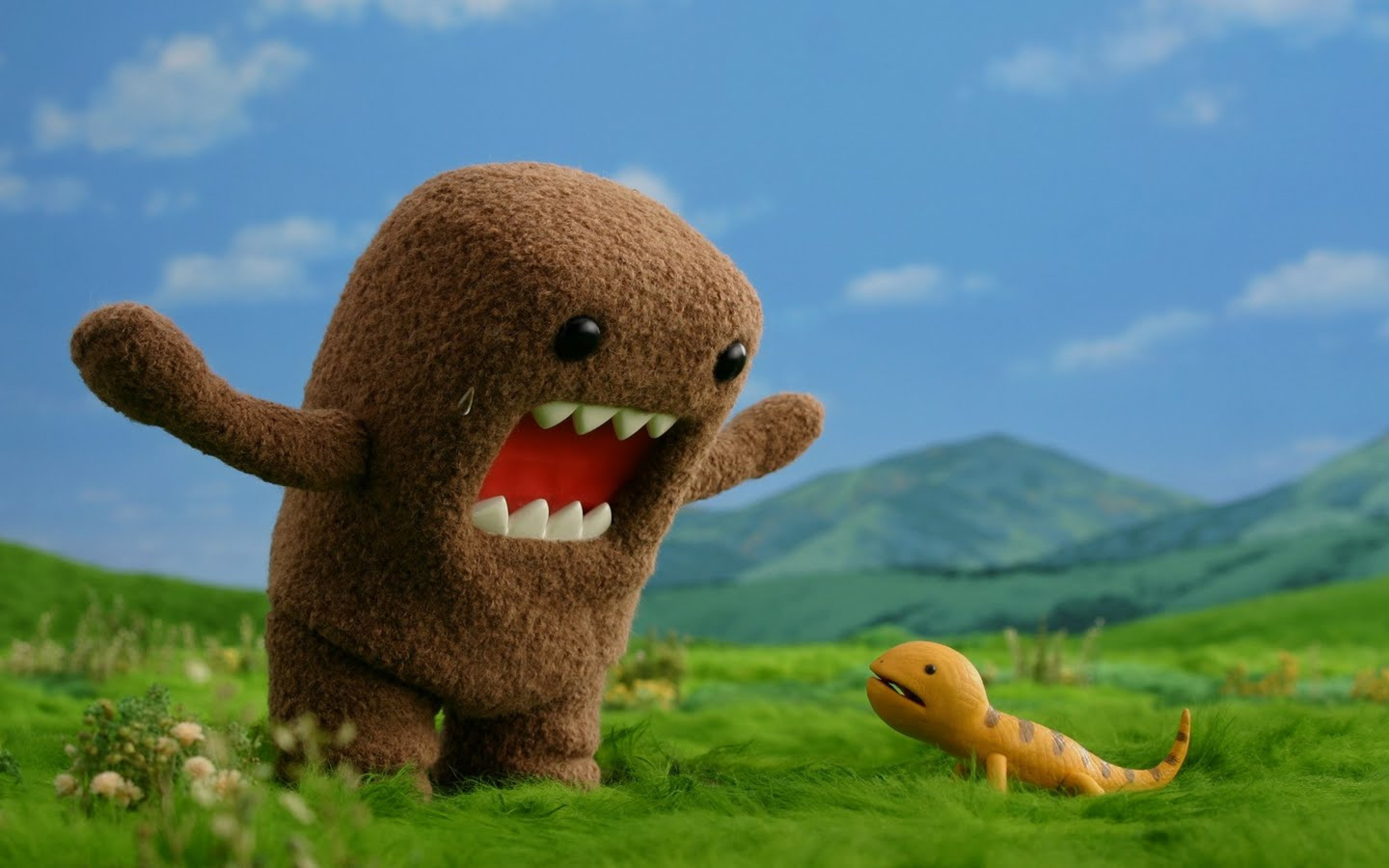 Funny Monster Wallpaper