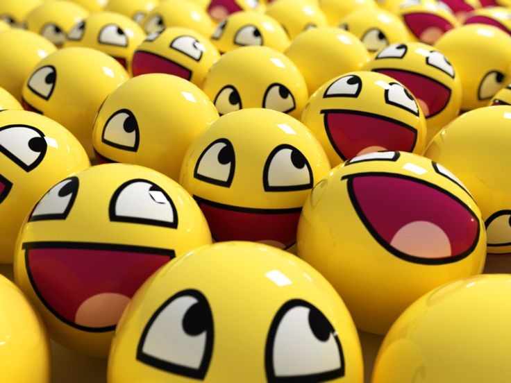Funny Smile Wallpaper
