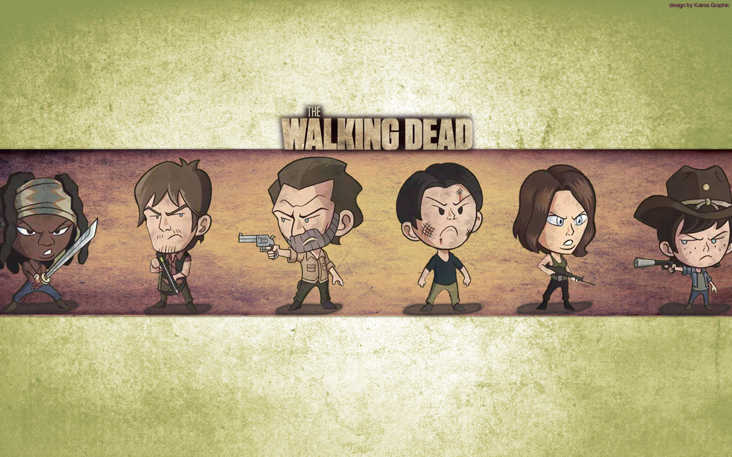 Funny Walking Dead Wallpaper
