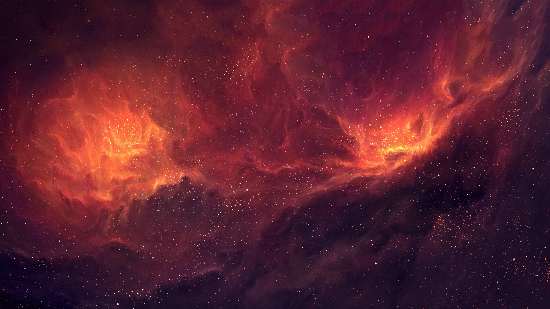 Galaxy Wallpaper Red