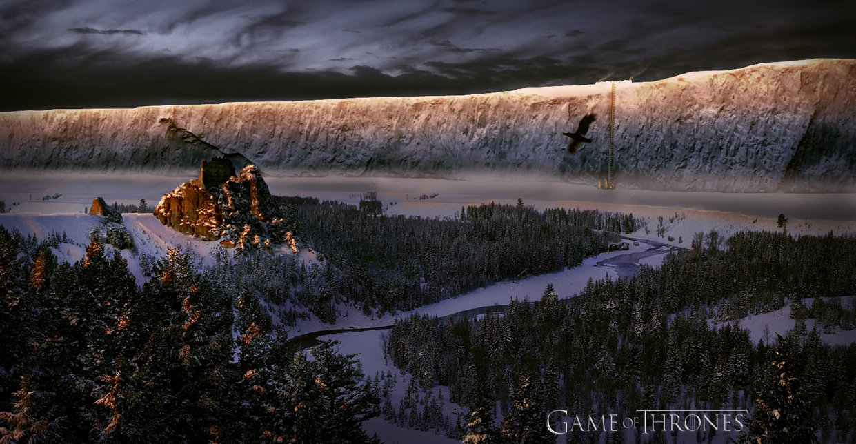 Game Of Thrones The Wall Wallpaper
