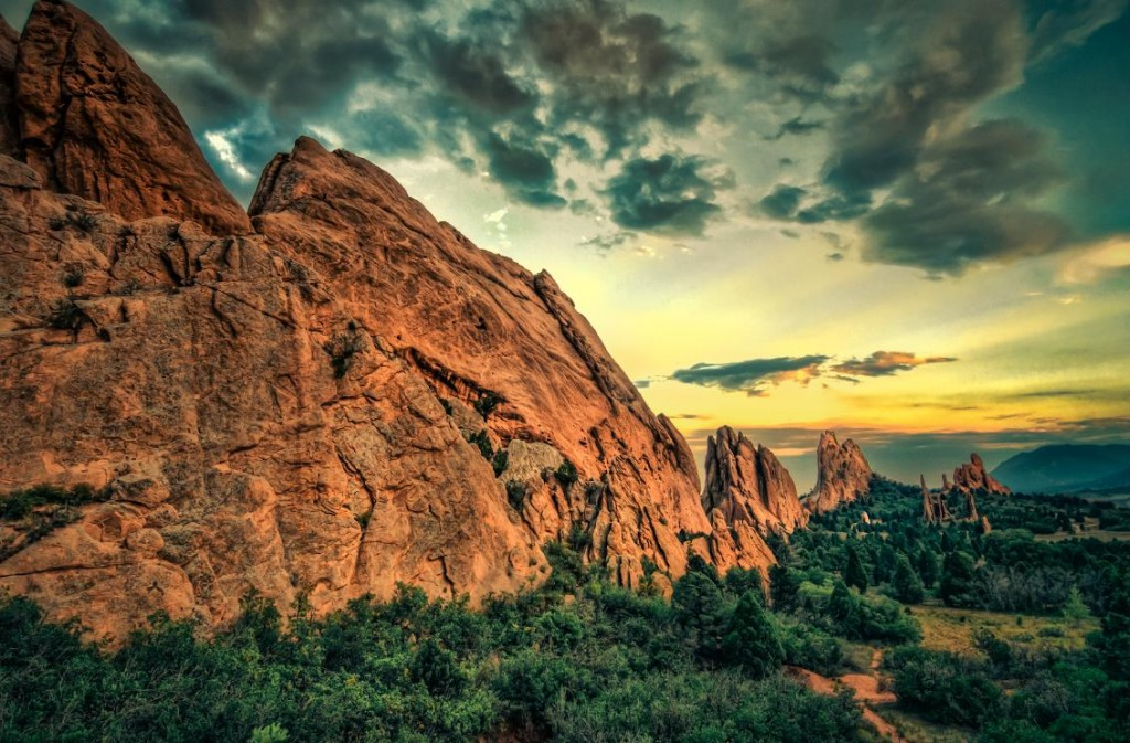 Garden Of The Gods Wallpaper