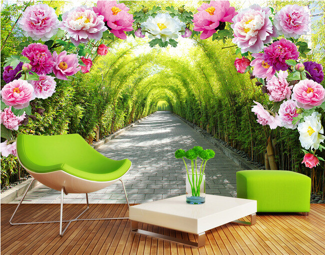 Garden Wallpaper For Walls