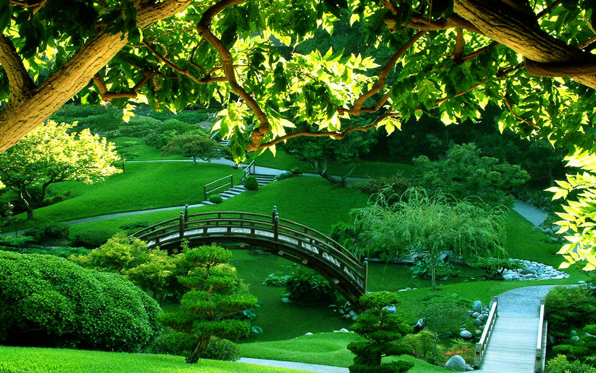Garden Wallpapers For Desktop