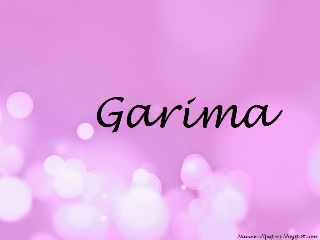 Garima Name Wallpaper