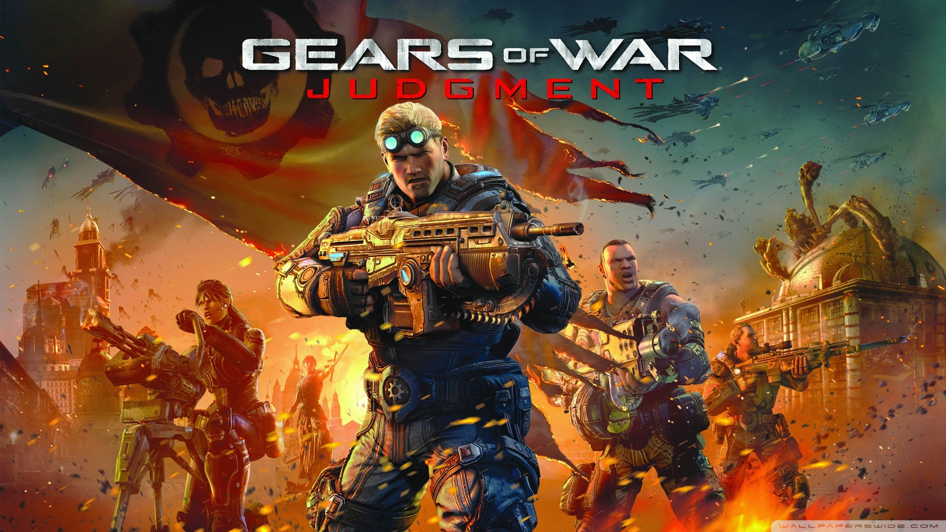 Gears Of War Judgment Wallpaper
