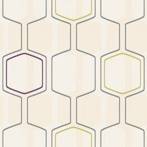 Geometric Wallpaper Borders