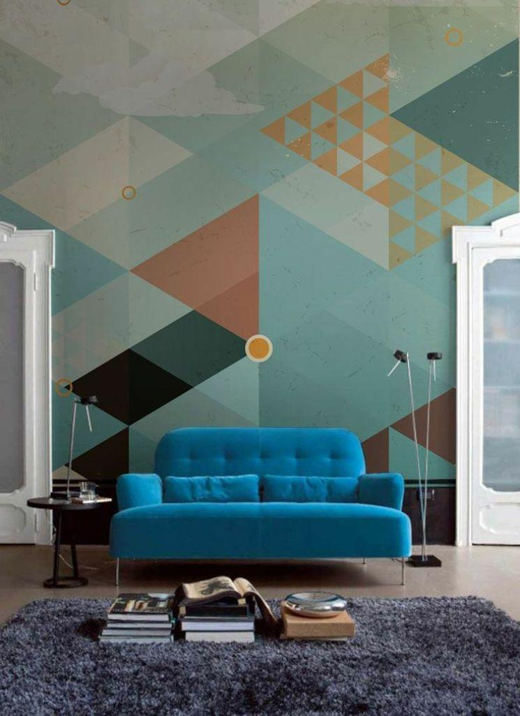 Geometric Wallpaper For Walls