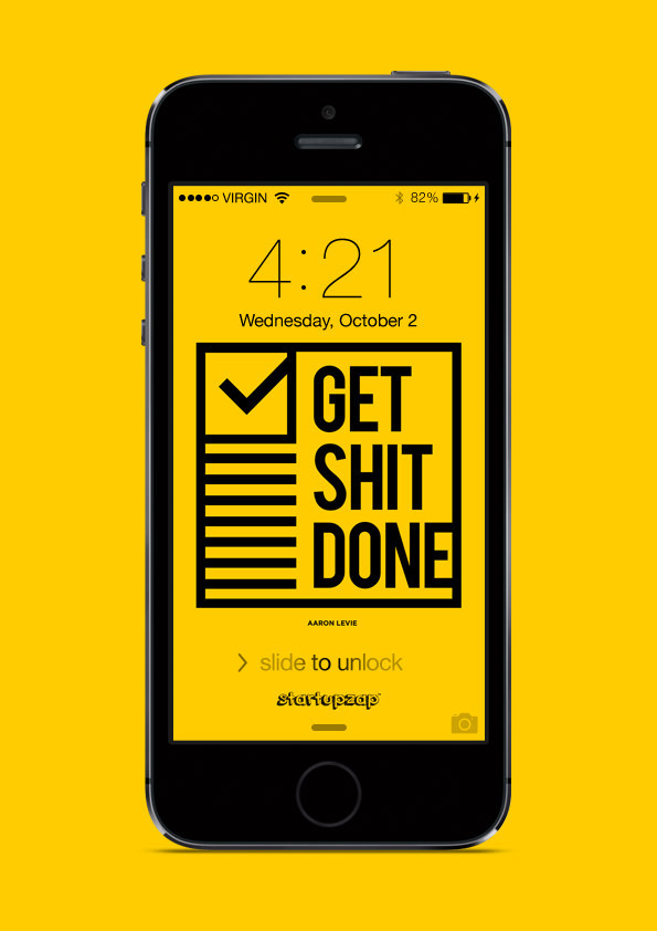 Get Shit Done Wallpaper