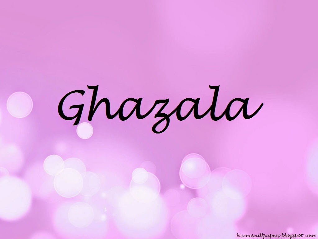 Ghazala Name Wallpaper