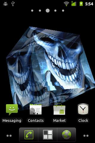 Ghost Live Wallpaper