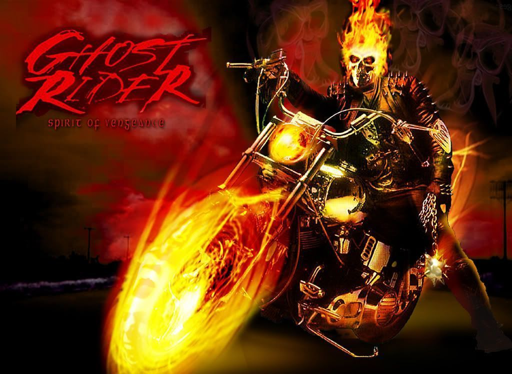 Ghost Rider Bike HD Wallpaper