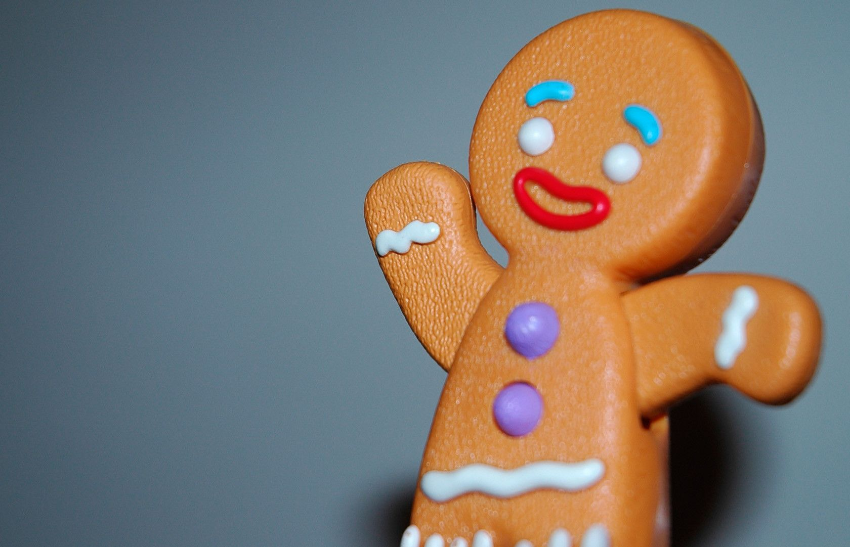 Gingerbread Man Wallpaper