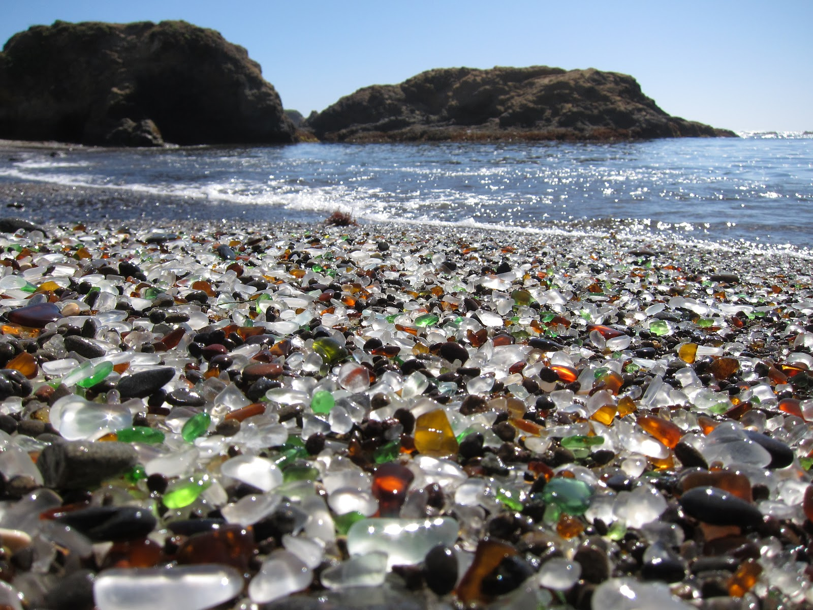 Glass Beach Wallpaper