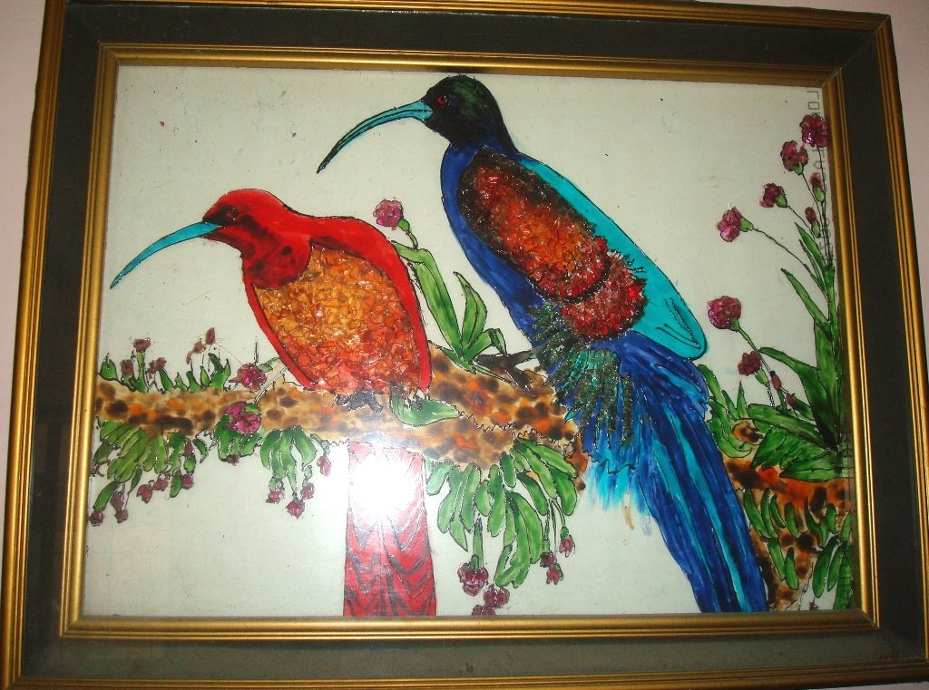Glass Painting Wallpapers