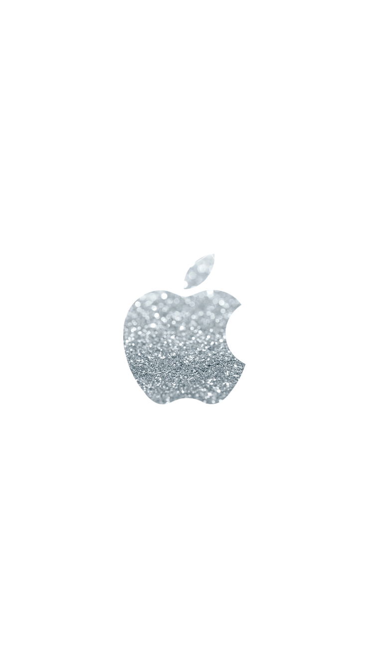 Glitter Apple Wallpaper