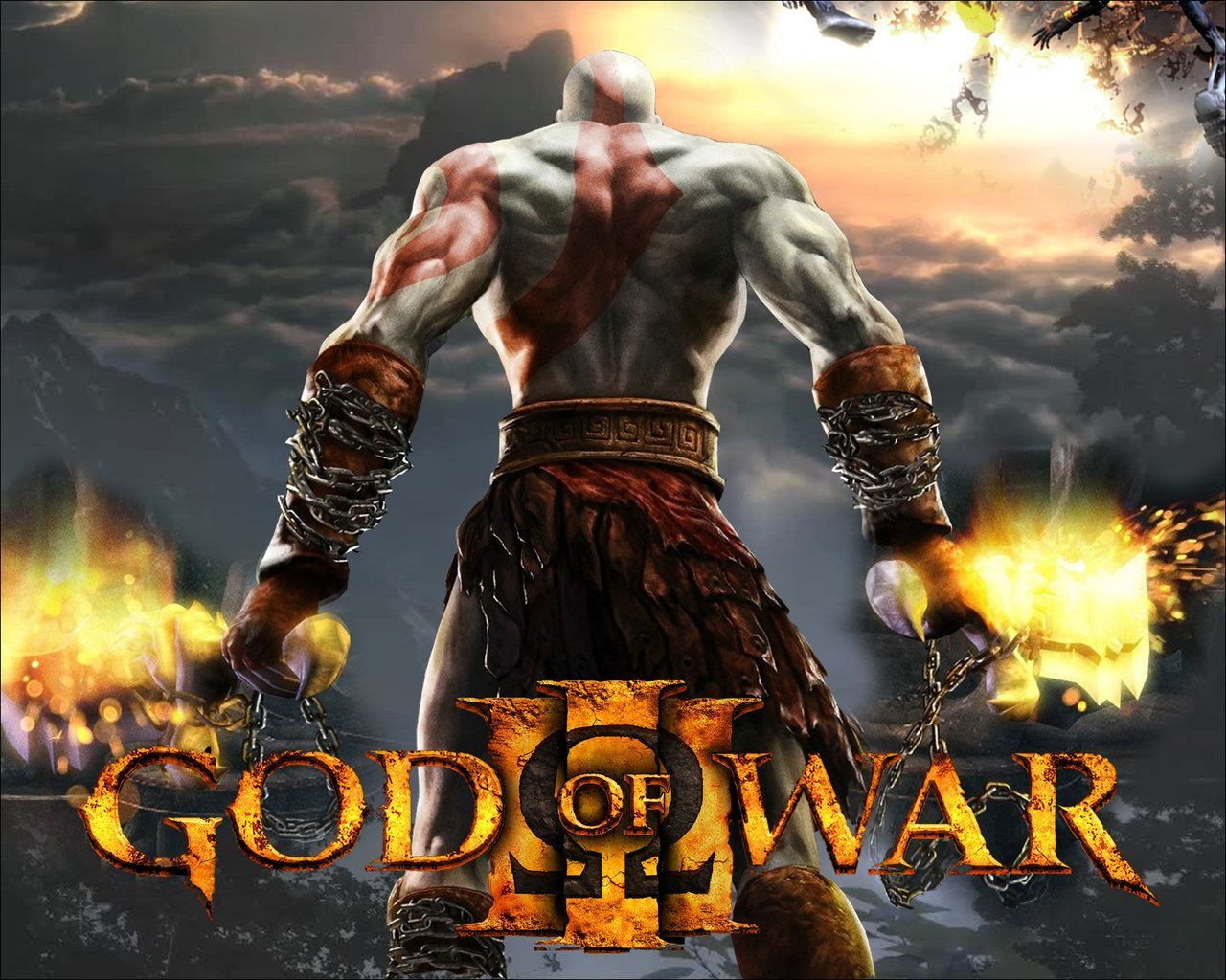 God Of War 3 Wallpaper Free Download
