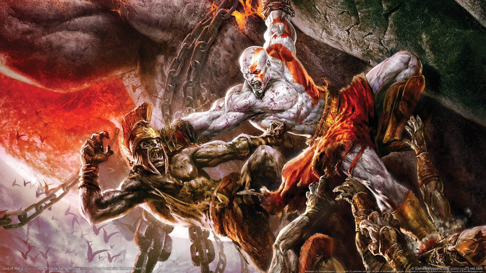 God Of War 3 Wallpaper HD Download
