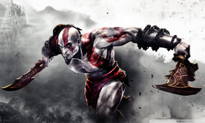 God Of War 3D Wallpaper