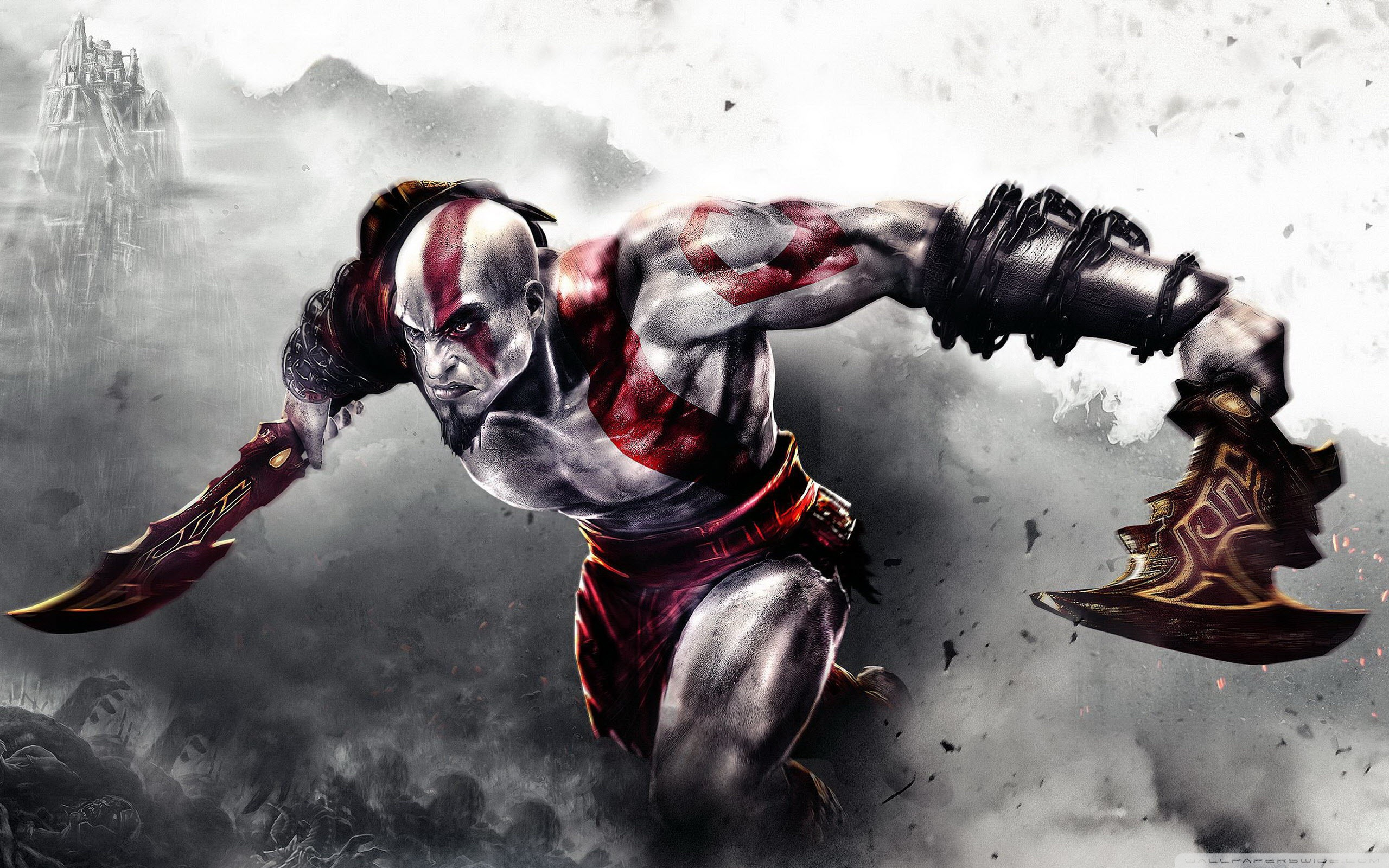 God Of War HD Wallpapers 1366x768