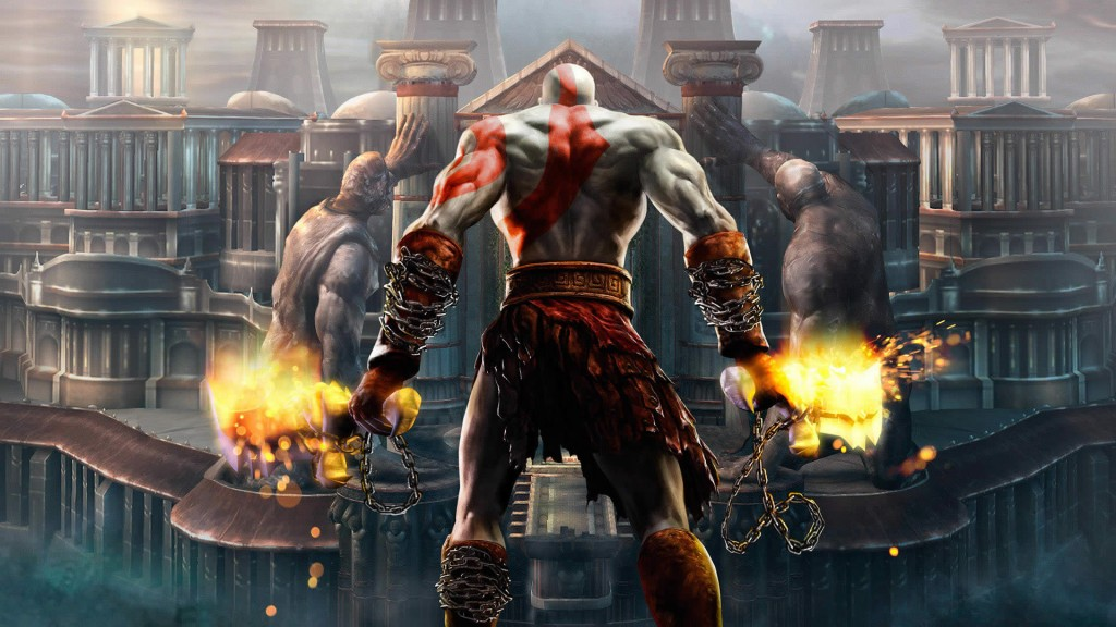 God Of War Wallpaper 3D