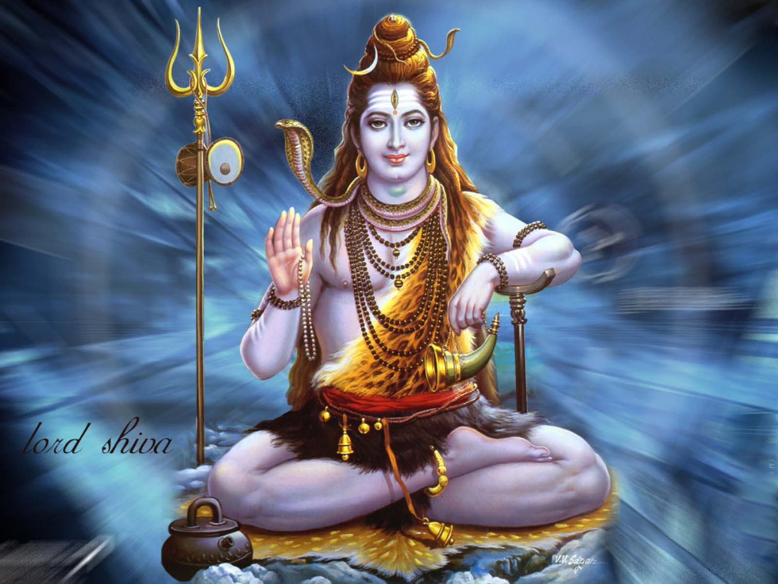 God Shiva HD Wallpaper Free Download