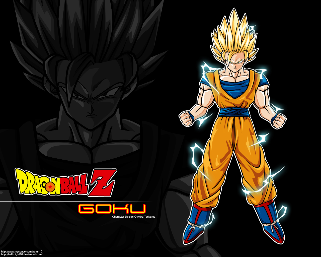 Goku Super Saiyan 2 Wallpaper