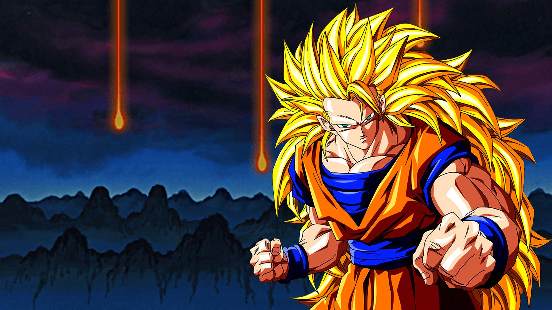 Goku Super Saiyan 3 HD Wallpaper