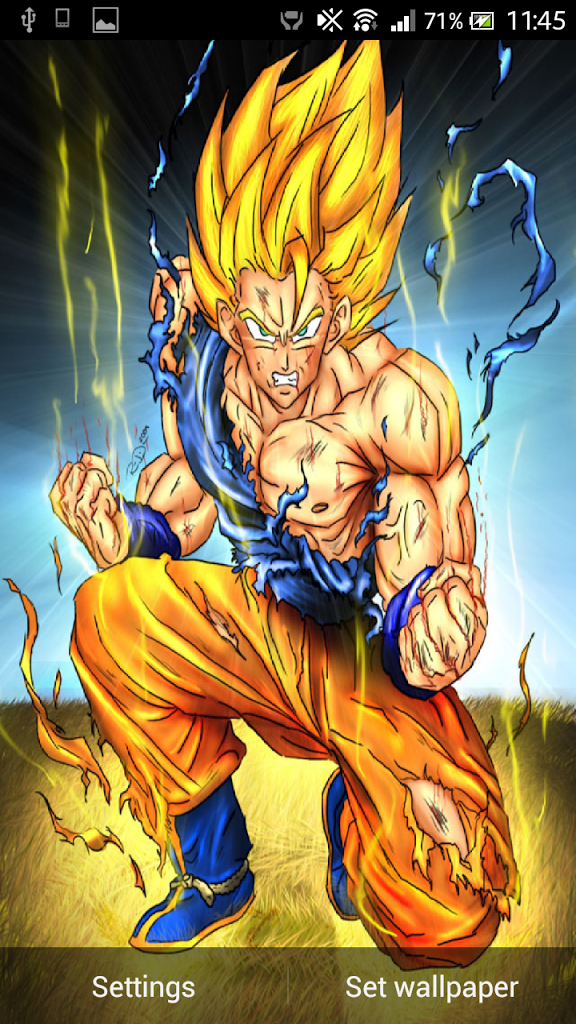 Goku Super Saiyan Live Wallpaper
