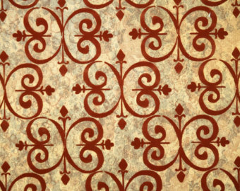 Gold And Burgundy Wallpaper