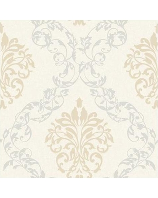 download gold and silver damask wallpaper gallery