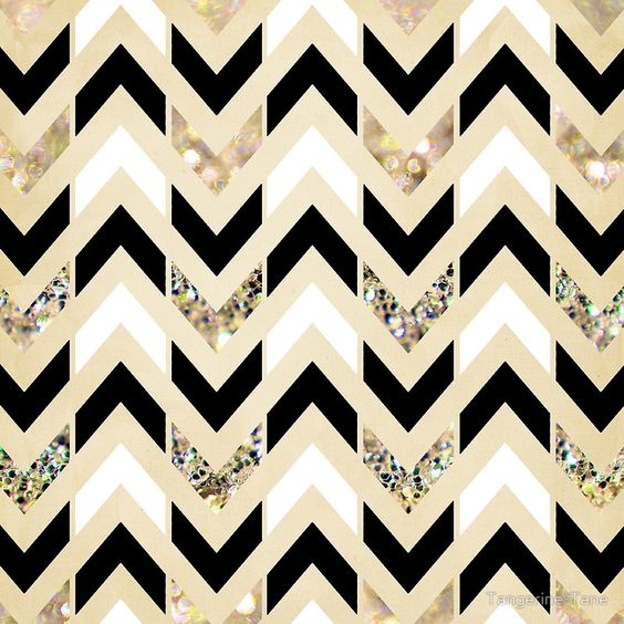 Gold Glitter Chevron Wallpaper Download
