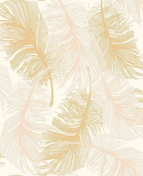Gold Leaf Effect Wallpaper