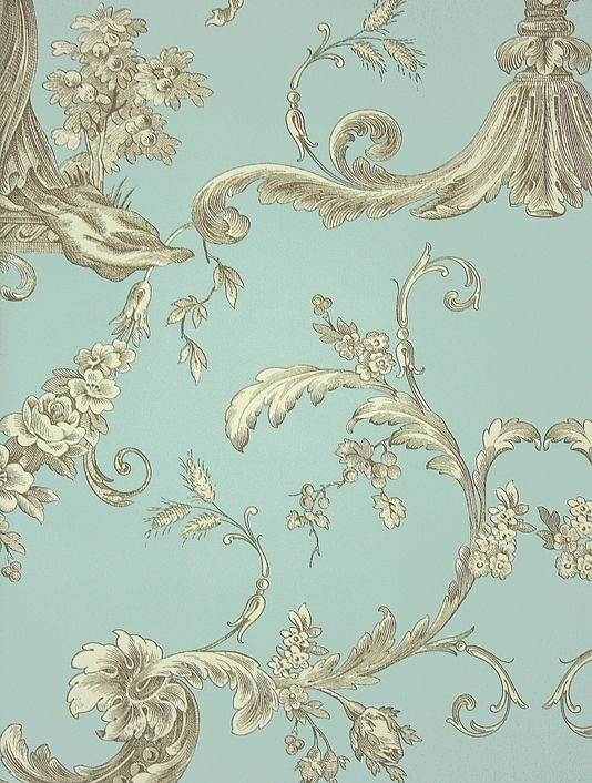 Gold Toile Wallpaper