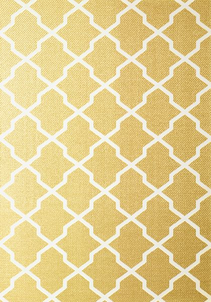 Gold Trellis Wallpaper