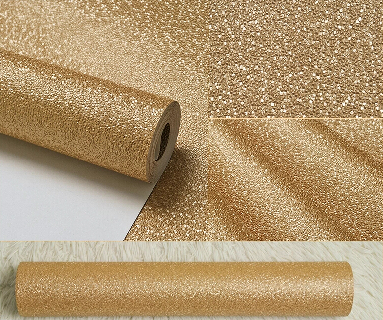 Gold Vinyl Wallpaper