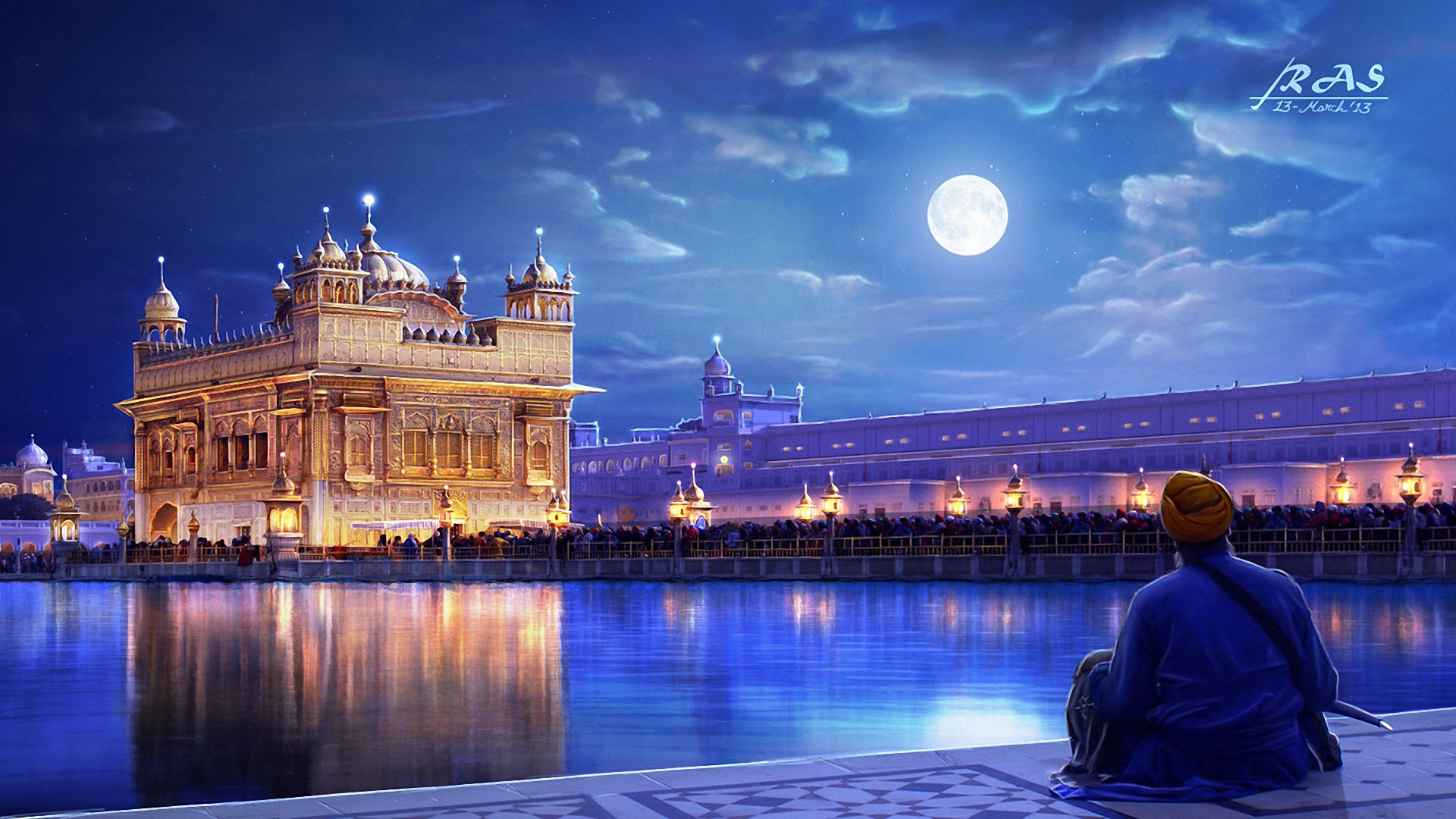 Golden Temple Wallpaper