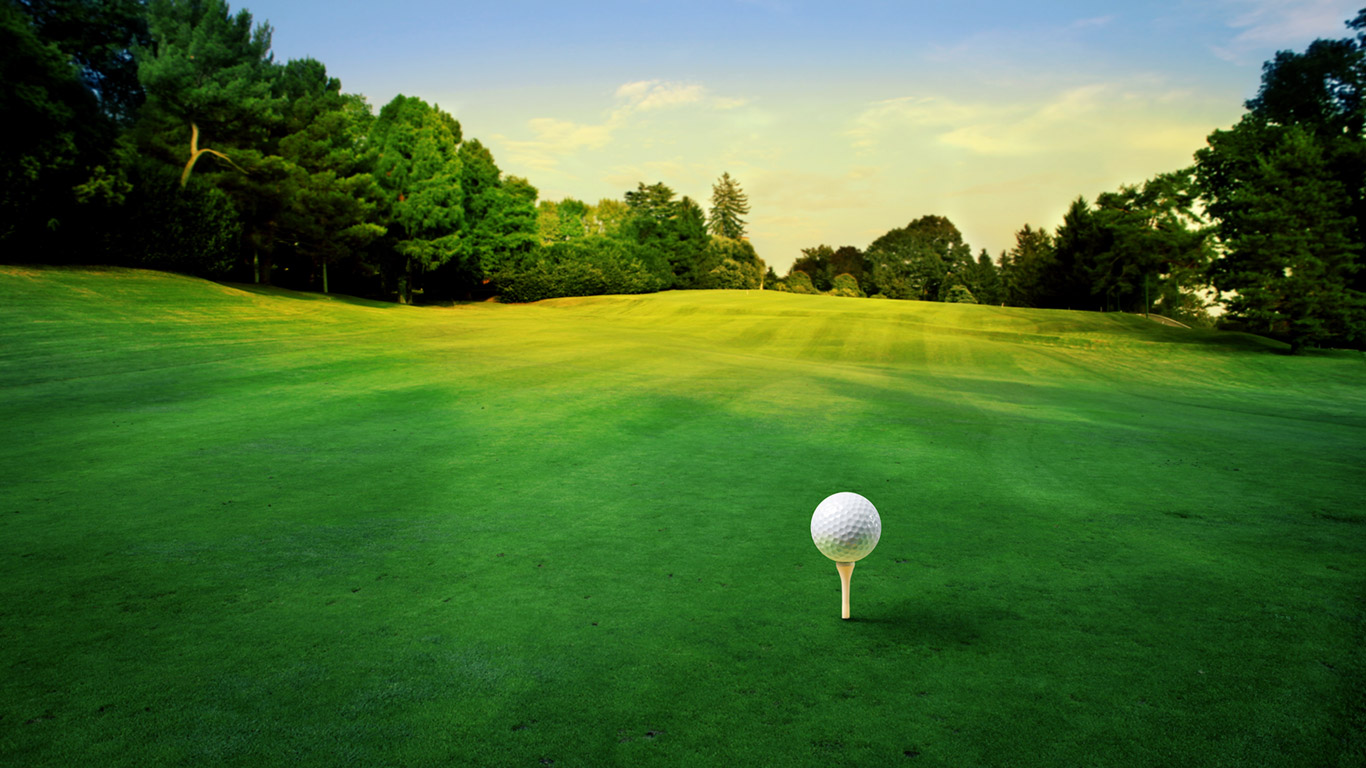 Golf Green Wallpaper