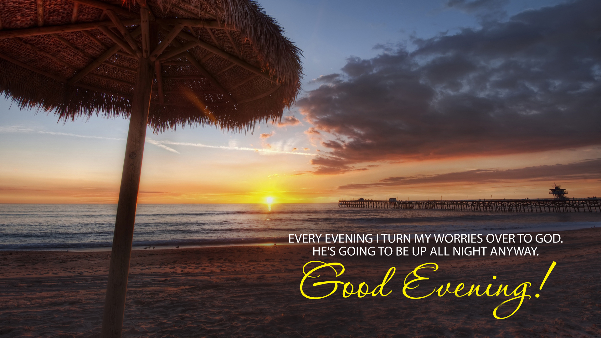 Good Evening HD Wallpaper Download