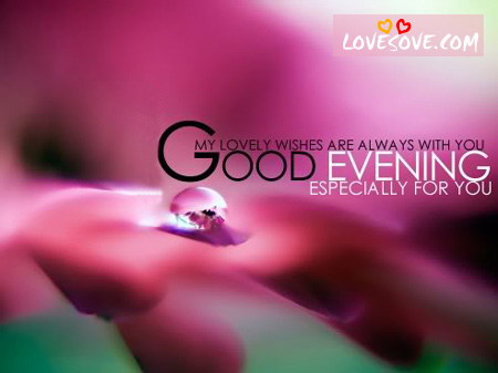 Good Evening Love Wallpapers