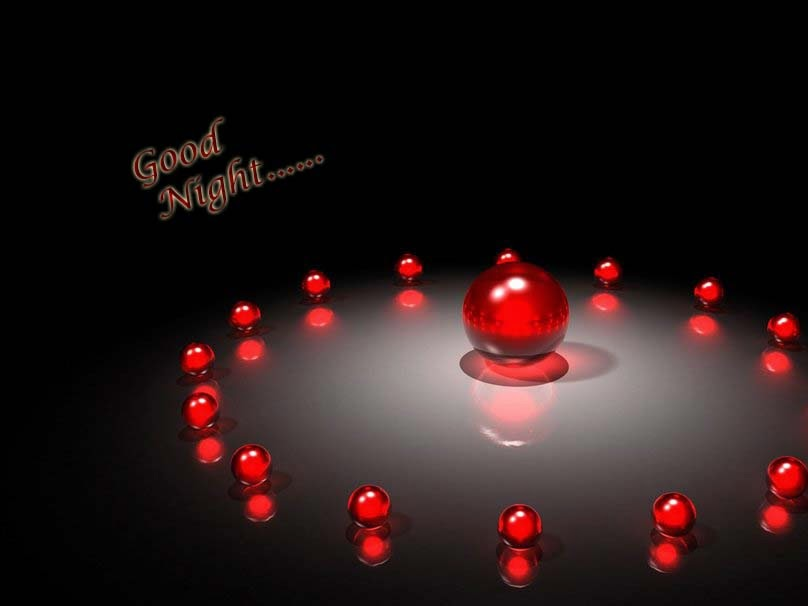 Good Night HD Wallpaper 3D