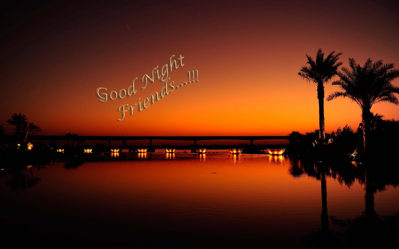Good Night Nature Wallpaper