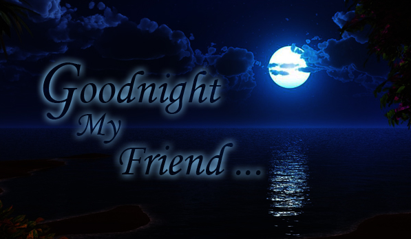Good Night Wallpaper Friends