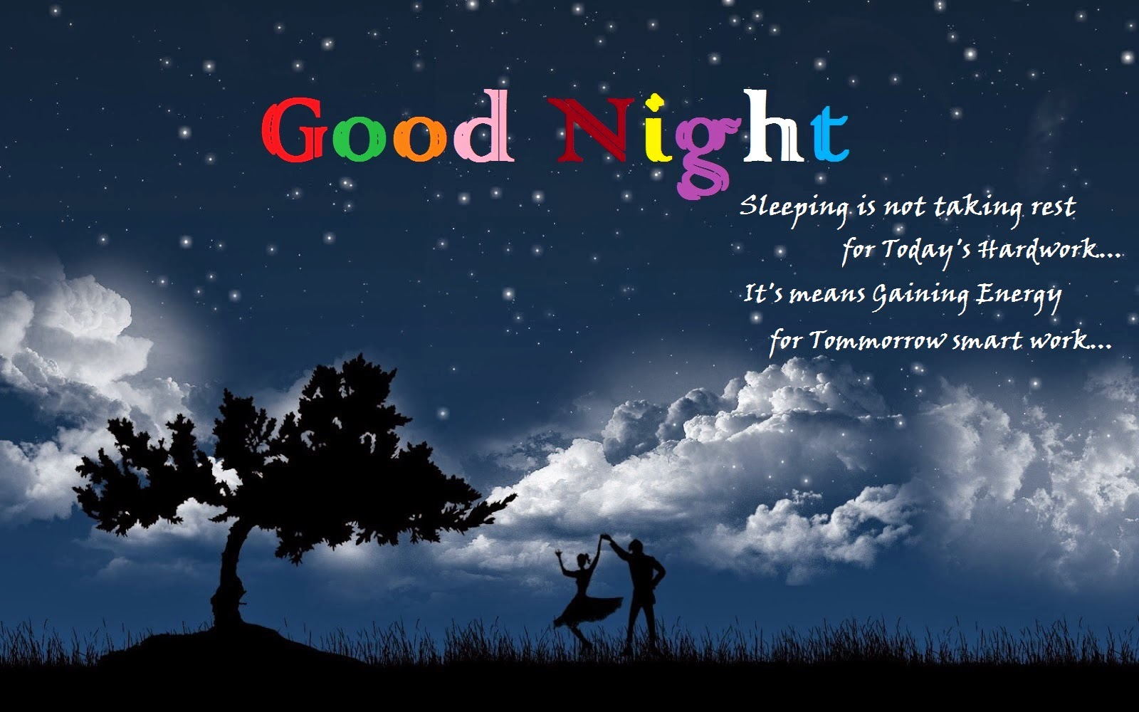 Good Nite HD Wallpaper