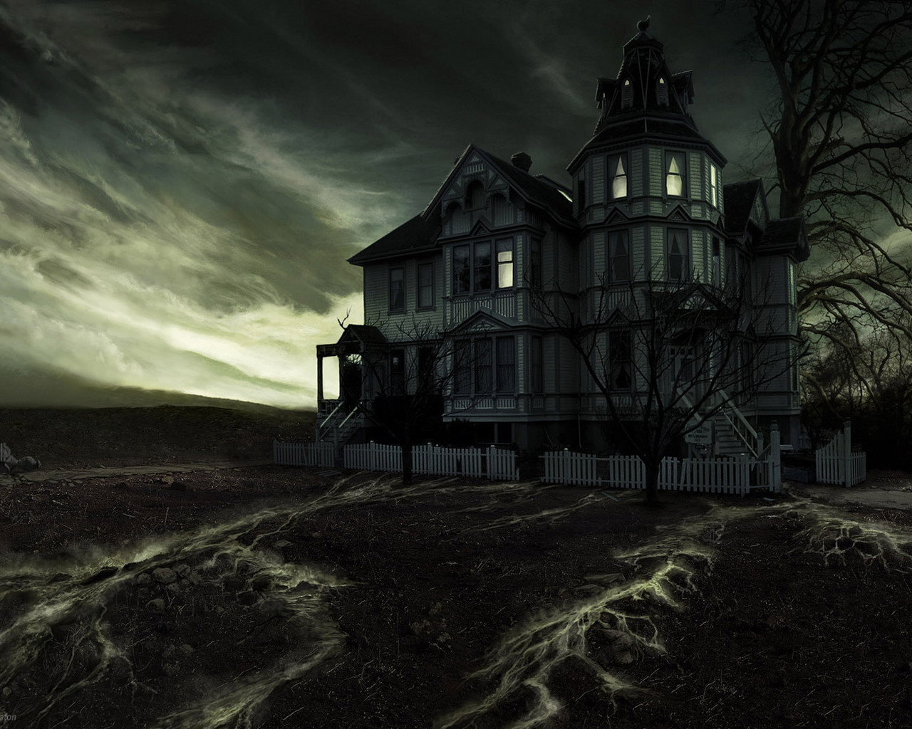 Download Gothic House Wallpaper Gallery